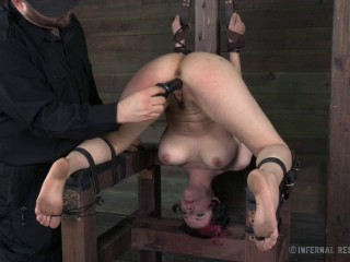 Infernalrestraints - Mar 28, 2014 - Stretched, Spanked and Stretched - Iona Grace