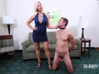 Brianna Punishes Her Cuck 1: Spanking