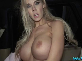 Fucked In Car And Cum On Her Tits