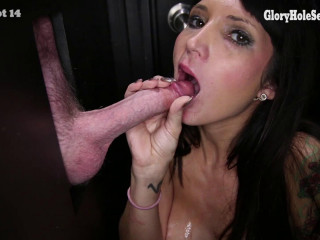 Hot Pretty Girl Sucks To These Guys Until They Explode
