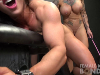 Muscle Lesbians Bound Together By Lust