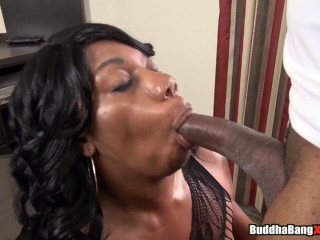 busty sexfeene with 50 inches of ass get destroyed by big black dick