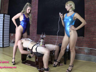Alexa Rydell & Harley Ems Restrain Examined While Facesat And Milked