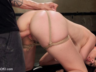 Rough Bang-out Buttfuck Slave Training - Audrey Holiday - Day 2