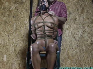 Having Fun With My Bondage Toy Chi Chi Medina - Scene 1 - HD 720p