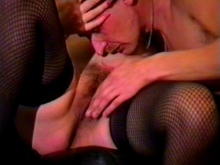 Drilling a busty mum