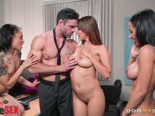 Amia Miley, Holly Hendrix, Isis Enjoy - 1 800 Phone Fuck-a-thon Line 4 FullHD 1080p