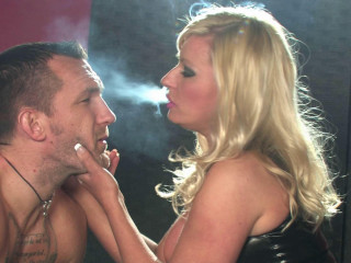 Mistress Michelle Thorne All White 120s Smoking Domination Part 1