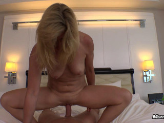 Hubby Sends Us His Wifey To Get Drilled