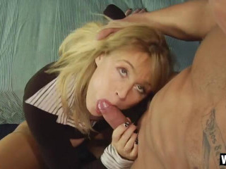Cougar Anna Gets A Cock Surprise While Home Alone