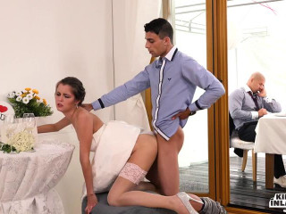 Super-hot Czech Cindy Glisten screws stepson and gets spunk on cupcakes at her wedding