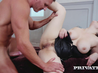 Lucia Love Busty Brunette Loves Anal