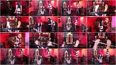Mistress Iside - Bastinado Punishment - Full HD 1080p