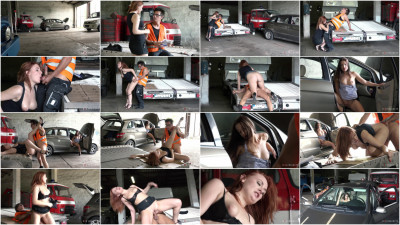 Eva Berger - Brokedown Babes - Friendly Truck Driver(2018)