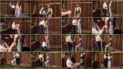 Madalynn Raye & Elizabeth Andrews - Six Inch Heeled Posture Training
