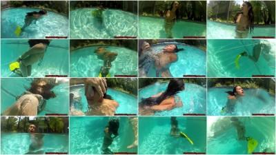H2O Bondage Gems - Bound Mermaid Struggle