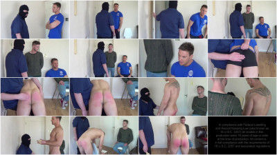 Straight Lads Spanked - Coach Rules Hard