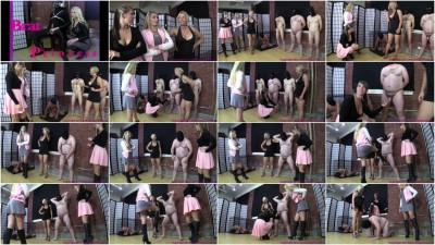 BPrincess - Chloe Peruses The Stables For A Ballbusting Slave