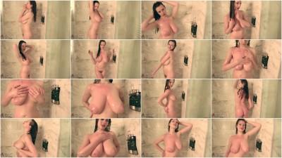 Misha takes a shower