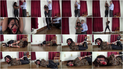 Enchantress Sahrye: Two Tight Bondages In Tight Jeans and Boots