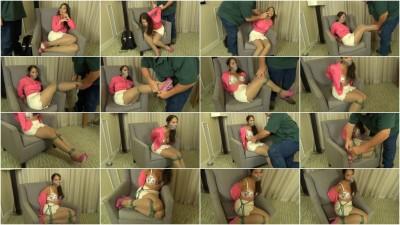 tit humiliation watch - (Anna chair)