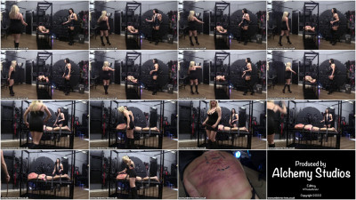 Mistress Tess - Turning His Back Red With Our Whips