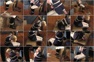 Inxesse — Bev Cocks in Jodhpurs and Riding Boots Tied