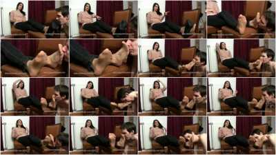 Nylon Smelling - Mistress Lucy - Full HD 1080p