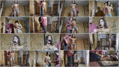 Having Fun with My Bondage Toy Chi Chi 1 part - BDSM, Humiliation, Torture HD 720p!
