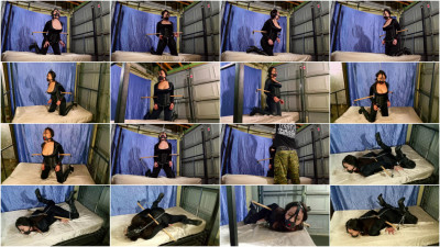 SBound — Nyssa Nevers.. Chained and Restrained
