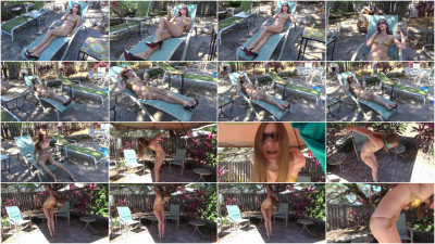 HunterSlair - Star Nine - The giggling girls tied up their babysitter in her bikini