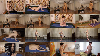 Naked Yoga School Videos Part 12