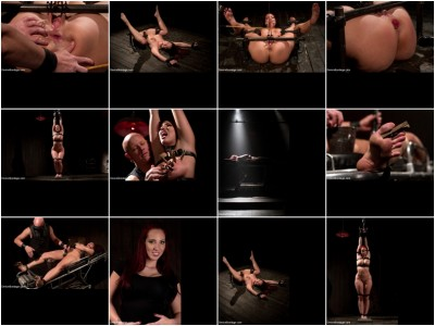 Kelly Divine: Stretched, Fucked, Flogged, and Squirting Everywhere; Rosebud Exposed!!
