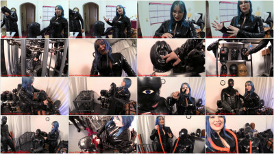 Serious Bondage Hazmat Gear - Layered Rubber Threesome Pt 1