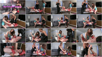 Danni Gets Pre Party Pegging From Mom And Sister