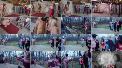 Brat Princess - Paintball Fusillade On Live Slaves