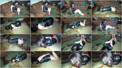 HunterSlair - Gigi - Brutally hogtied in zipties
