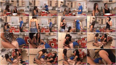 Girls Abuse Guys - Cooking Class