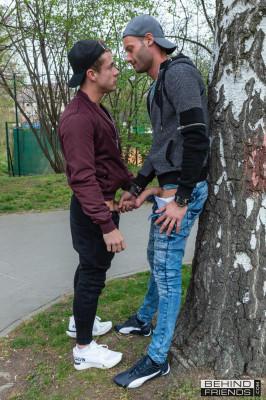 BF - Bareback Skateboarder Finds A Jock Buddy - Dave & Marty