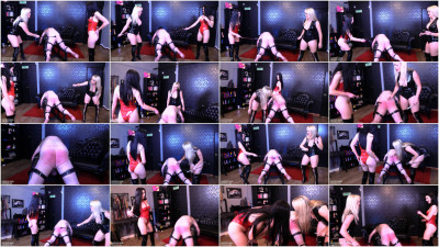 Mistress Tess, Mistress Karina - Thrashed To Tears