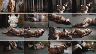 Smalltown Jail - Rinn Hogcuffed, F to Excerise, then Hogtied - Part 2