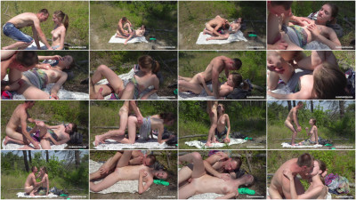 Vika Lita gets her hair pulled while banged from behind FullHD 1080p
