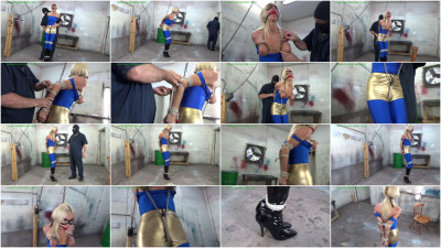 HunterSlair - Amanda Foxx - Steel bound tit interrogation