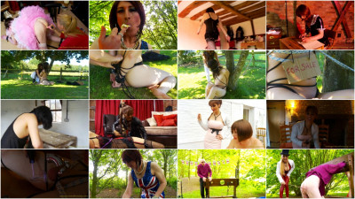 roleplay vid (Sweet The Best Nice Very Hot Collection VintageCrossDressing. Part 1).