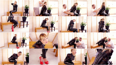 Mina - Black Lacing Armbinder