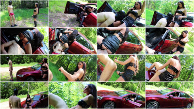 Evil Woman - Strapon Fuck In The Forest