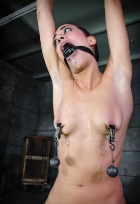 Rough bondage, tough positions, and harsh corporal punishment