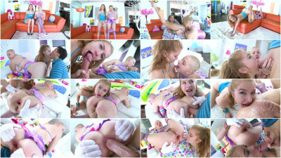 Best Threesome Anal For Arya Fae Riley Nixon