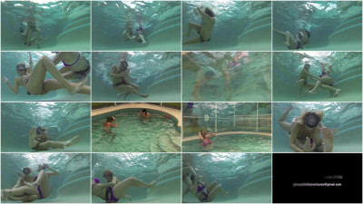 GinarysTickleAdventures — Underwater Tickle Fun With Nikki Brooks Vanessa Rain