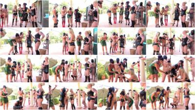 Mistress Ezada, Lilse Von Hitte, Ava Von Medisin - Milking Contest At The Femdom Summer Camp